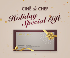 CGV극장별[씨네드쉐프] Holiday Special Gift