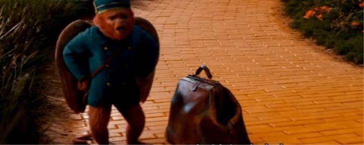 [오즈 그레이트 앤드 파워풀]날개 달린 원숭이 핀리의 열폭 영상
