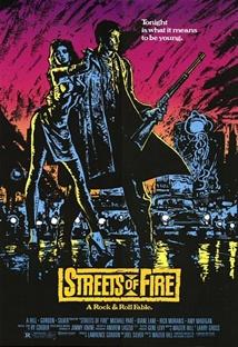 스트리트 오브 화이어 포스터