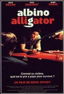 알비노 앨리게이터 포스터