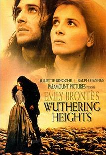 에밀리 브론테의 폭풍의 언덕 포스터