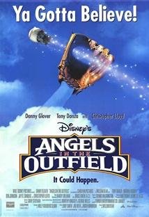 외야의 천사들 포스터