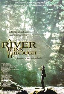 흐르는 강물처럼 포스터