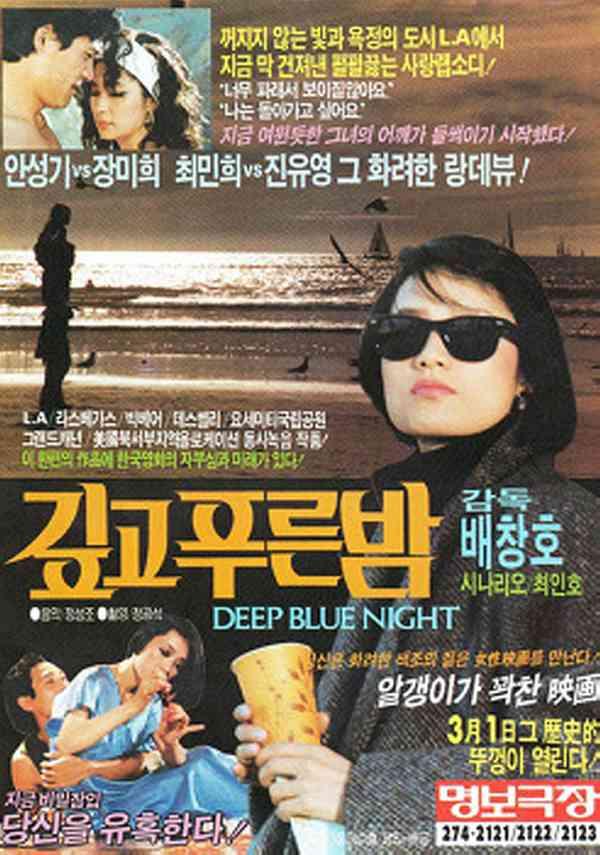 깊고 푸른 밤 포스터 새창