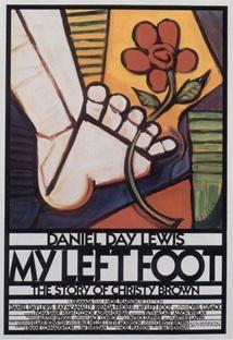 나의 왼발 포스터
