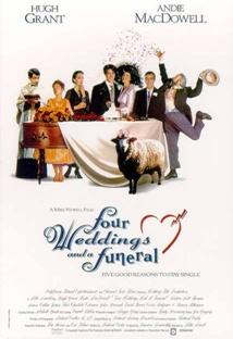 네번의 결혼식과 한번의 장례식 포스터