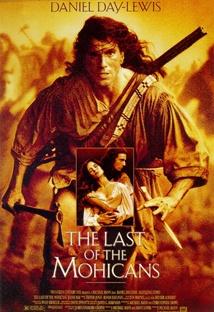 라스트 모히칸 포스터