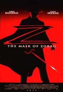 마스크 오브 조로 포스터