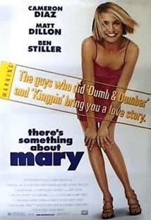 메리에겐 뭔가 특별한 것이 있다 포스터