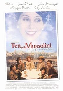 무솔리니와 차 한 잔 포스터