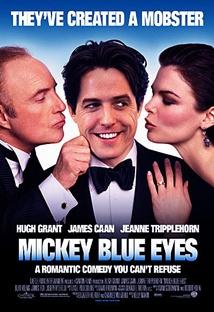 미키 블루 아이즈 포스터