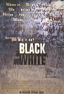 블랙 앤 화이트 포스터