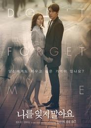 나를 잊지 말아요 포스터