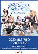 (라이브뷰잉)Morfonica 1st Live「Cantabile」Live Viewing 포스터