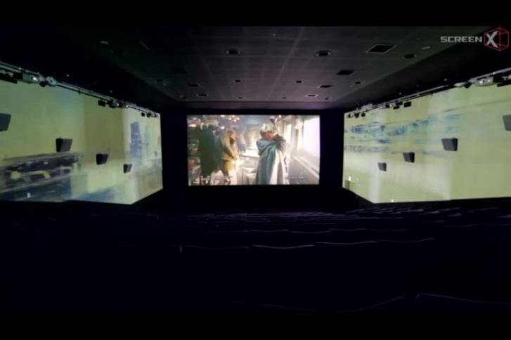 [설국열차]스크린X 시연영상 - 설국열차