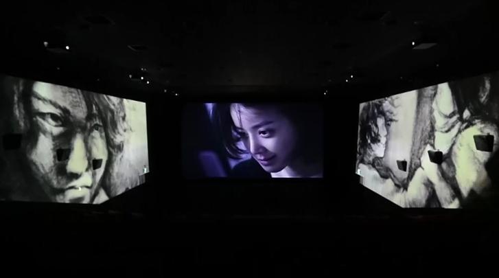 [더 웹툰 : 예고살인]스크린 X 시연 영상 - 더 웹툰 : 예고살인