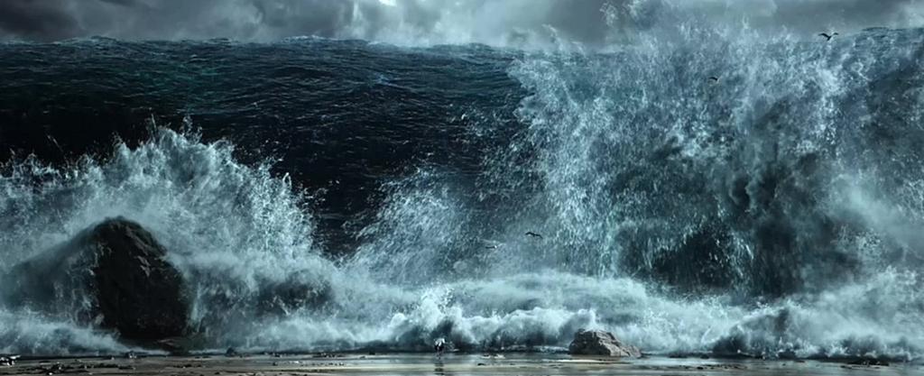 [엑소더스: 신들과 왕들]압도적 스케일 홍해 영상