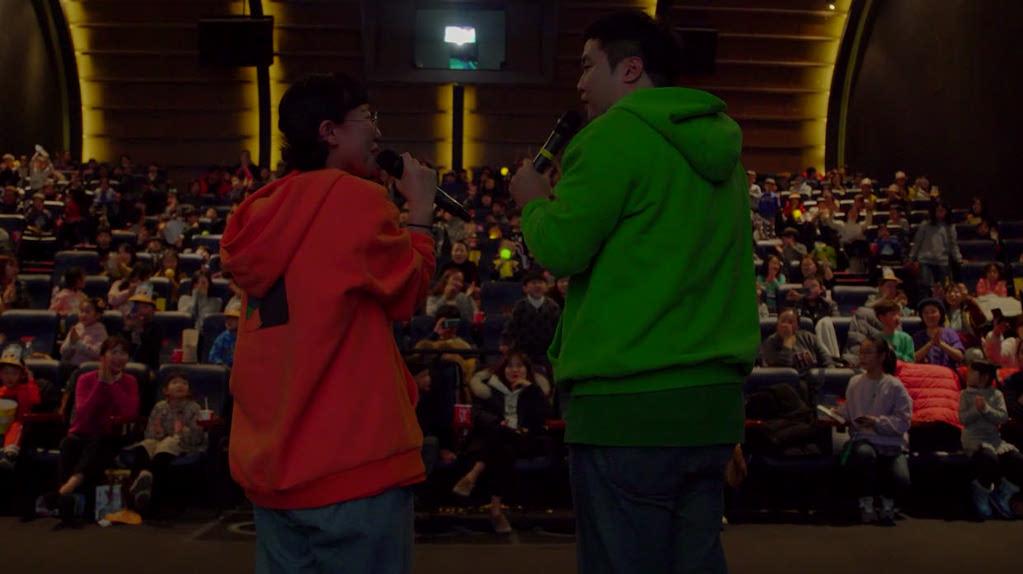 [신비아파트 극장판 하늘도깨비 대 요르문간드]시사회 현장 영상