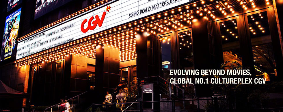 EVOLVING BEYOND MOVIES, GLOBAL NO.1 CULTUREPLEX CGV