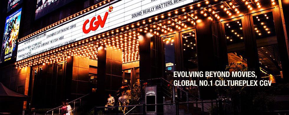EVOLVING BEYOND MOVIES, GLOBAL NO.1 CULTUREPLEX CGV