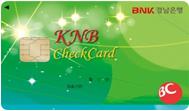 BNK경남 체크 IC카드