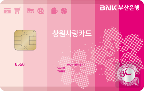 BNK부산 창원사랑 카드