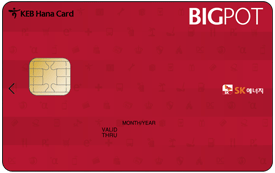 하나 BIGPOT 카드