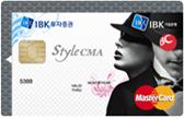 IBK style CMA카드