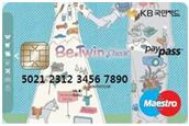 KB국민 비트윈 체크카드