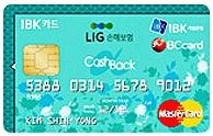 LIG손해보험 제휴카드