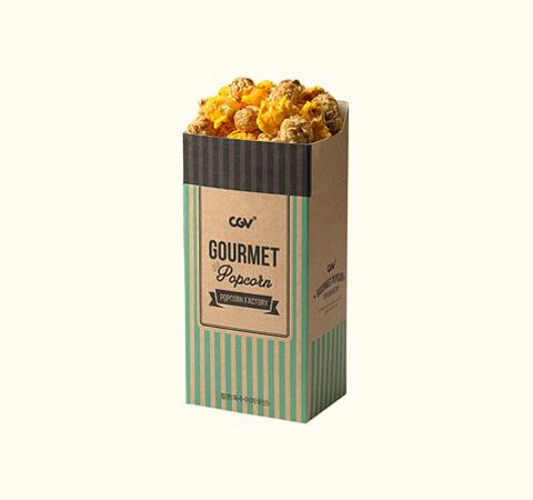 카라멜&치즈 믹스 팝콘(M)