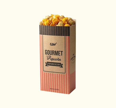 카라멜&치즈 믹스 팝콘(L)