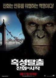 혹성탈출: 진화의 시작 포스터