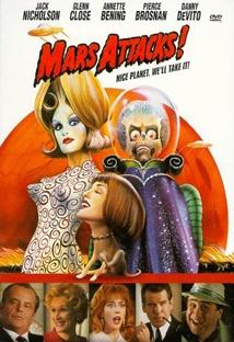 팀 버튼의 화성침공 포스터