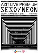 [아지트라이브프리미엄]새소년 콘서트 포스터