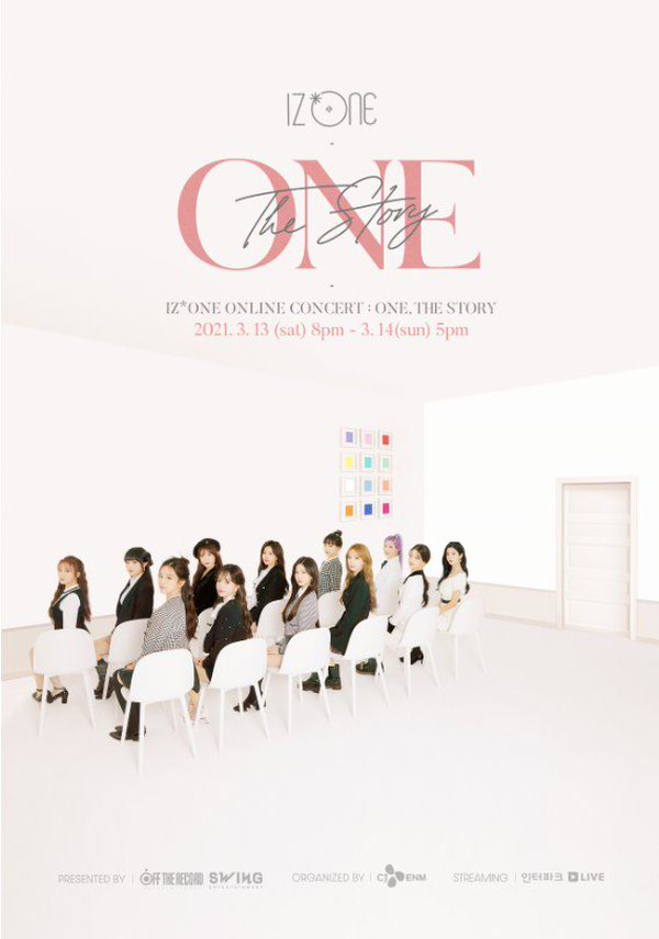 IZ*ONE ONLINE CONCERT[ONE, THE STORY] 포스터 새창