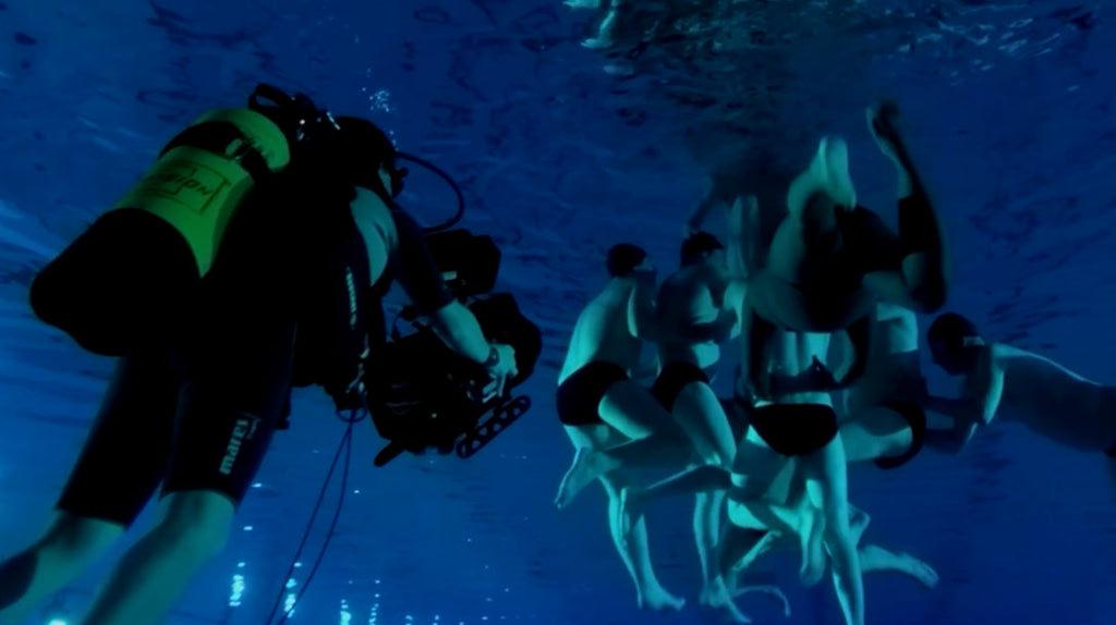 [수영장으로 간 남자들]메이킹 영상