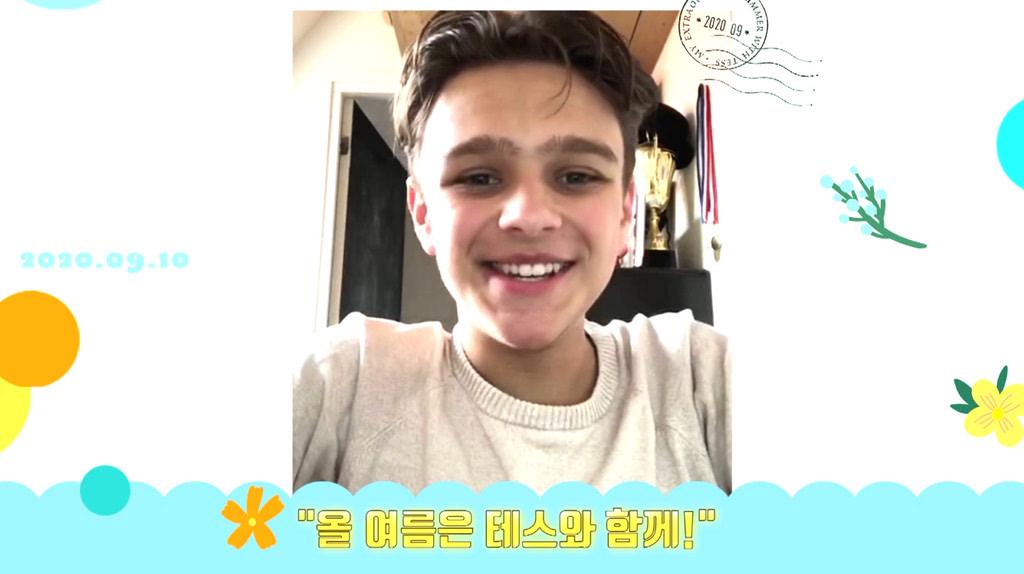 [테스와 보낸 여름]샘(소니 코프스 판 우테렌) 한국 개봉 축하 메시지 영상